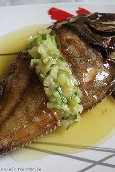 Casaveneracion.com: fried labahita (surgeonfish) with chili pineapple sauce