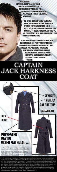 Congratulations Chris Dixon on your Captain Jack Harkness Coat Infographic!    http://abbyshot.com/doctor-who/captain-jack-harkness-coat/