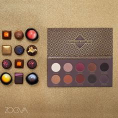 ZOEVA Cocoa Blend Palette - Inspired by warm truffle colors, delicate nougat shades and shimmery marzipan tones for a seductive glamour makeup. www.zoeva.de
