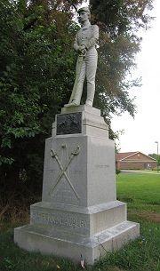 16th PA Cav. monument at Gettysburg