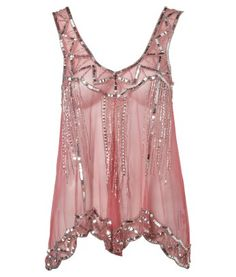 Lipsy Antique Beaded Scalloped Top - Lipsy from Lipsy London. Saved to wardrobe. Stylish Outfits, Cute Outfits, Summer Outfits, Pink Fashion, Womens Fashion, Lipsy, Dress Me Up, Dress To Impress, Feminine