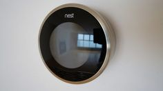 A brand heading for ubiquity - Nest - the Nest smart thermostat - expect the Nest brand to become ubiquitous in our homes, and hubless mesh networks and protocols being the structure that holds the internet of things together. Nest Smart Thermostat, Mesh Networking, Motion Detector, Reading Challenge, Power Led, Home Automation, Smart Home, Internet, Technology