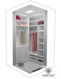 closet layout 393009504986126708 - Mini closet Source by michelejalabert Corner Wardrobe Closet, Dressing Room Closet, Dressing Room Design, Wardrobe Design Bedroom, Bedroom Wardrobe, Bedroom Cupboard Designs, Bedroom Cupboards, Small Closet Organization, Closet Storage