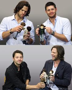 Look at Jared's face in the first pic. He seems so into it. I can't anymore...
