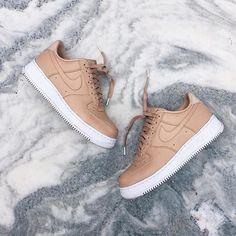 super popular 4827b 90594 Tan Air Force Ones, Nike Shoes Air Force, Nike Force 1, Air Force