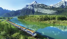 Rocky Mountaineer - Vancouver to Banff by Train