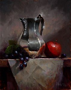 Pintura a óleo sobre tela de Kathy Tate