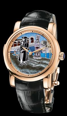 Ulysse Nardin Carnival of Venice.    B. Young & Co.  Luxury Timepieces and Jewelry.  byoungco.com  https://www.facebook.com/BYoungCo  john@byoungco.com