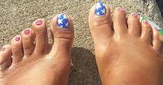 4th of July feet