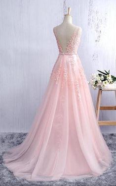 Pink Prom Dress, Prom Dresses, Graduation Party Dresses, Formal Dress For Teens – Women Fashion Pink Prom Dresses, Women's Evening Dresses, Tulle Prom Dress, Quinceanera Dresses, Pretty Dresses, Party Dress, Bridesmaid Dresses, Amazing Dresses, Dress Lace