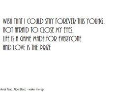 Avicii feat. Aloe Blacc - wake me up - a bit old, but still good