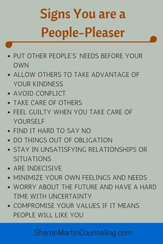 Signs You Are a People Pleaser #pleaser #boundaries #codependency