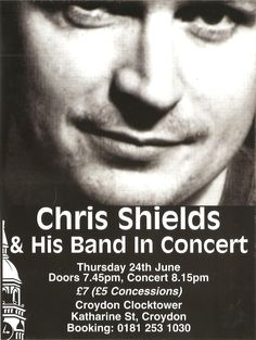 Chris Shields and His Band Chris Shields, Carole King, Him Band, Nonfiction, Singer, Concert, Non Fiction, Singers, Concerts