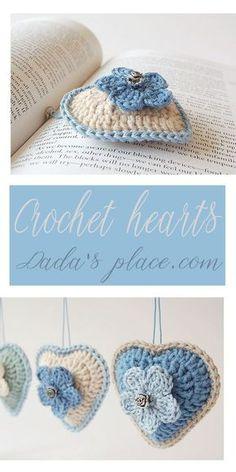 Mesmerizing Crochet an Amigurumi Rabbit Ideas. Lovely Crochet an Amigurumi Rabbit Ideas. Crochet Puff Flower, Crochet Flower Patterns, Crochet Stitches Patterns, Love Crochet, Crochet Gifts, Crochet Motif, Diy Crochet, Crochet Flowers, Crochet Hearts