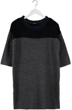 Pin for Later: Mode: La Robe Pull Sera Votre Allié Cet Hiver Robe Pull Kookai Robe pull noir (120€)
