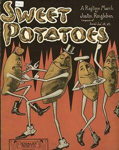 Dancing Sweet Potatoes ~ Vintage Sheet Music