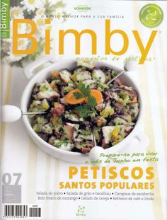 Revista bimby junho 2011 Bolo Fresco, Make It Simple, Slow Cooker, Junho, Nom Nom, Recipies, Good Food, Food And Drink, Pasta
