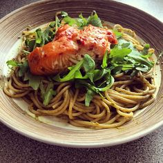 https://www.instagram.com/p/unT3nOLdbO/ Wholewheat Spagetti w/ reduced fat pesto, Rocket and Sweet Chilli Salmon #IIFYM #iifymgirls #macros #delicious #balanced #flexibledieting #eatforabs #eathealthy #healthy #healthyeating #lifestylechange #fitfam #fitspo #fitness #fatloss #foodporn #fitgirls #girlswholift #gymbunny #deadlift #dedication #motivation #inspiration