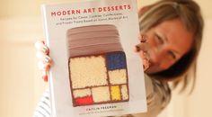 #ModernArtDesserts, a #cookbook by the pasty chef at the #SanFrancisco Museum of Modern Art - http://www.finedininglovers.com/blog/news-trends/modern-art-desserts-cookbook-preview-video/