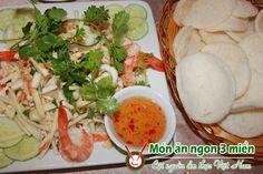 Cách trộn gỏi củ hủ dừa tôm thịt | Món ngon mỗi ngày | Món ăn ngon | Món ngon Việt Nam