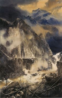 Fall of Nargothrond - Alan Lee