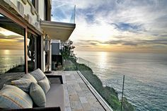 perfect patio with the perfect view