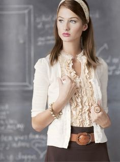 perfect teacher outfit! mega love!