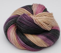 Gradient Yarn Baby Camel / Silk 120 gr by yarnandfibre on Etsy