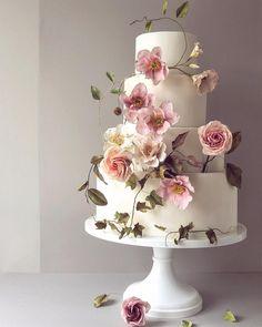 5469 best Wedding Cakes images on Pinterest in 2018 | Wedding ...