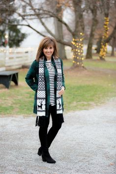 COZY WINTER OUTFIT WITH PAYLESS