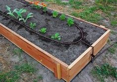 Nice Drip Irrigation For Raised Garden Beds. The Time Spent Installing A Drip  Irrigation System Will