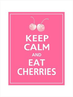 Cherries( good for menopause weight loss)