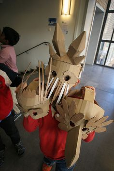 Animal mask workshop | Flickr - Photo Sharing!