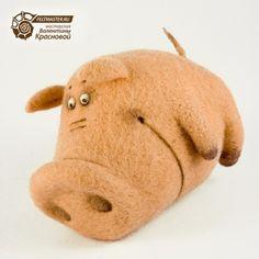 Поросенок Рулька #pork #felt