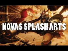 Novas Splash Arts - Patch 6.8 - League of Legends