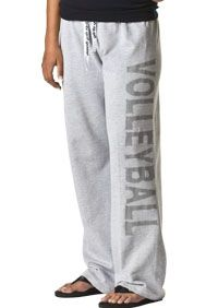 I want these volleyball sweat pants!