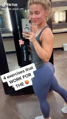 Gym Workout Videos, Gym Workout For Beginners, Fitness Workout For Women, Butt Workout, Gym Workouts, Bridge Workout, Workout Plans, Sculpter Son Corps, Summer Body Workouts