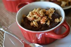 Chocolate Cherry Risotto