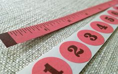 Paper Tape & Stickers: free printable in different styles