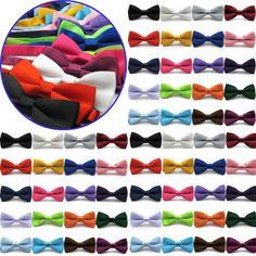 New Classic Novelty Mens Adjustable Tuxedo Bowtie Wedding Bow Tie Necktie