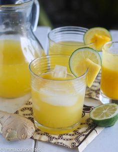 Refreshing Pineapple Ginger Juice with just the right blend of sweet, spicy and sour taste. Everyone has a favorite way to use ginger, some folks like to include it in stir-fries: others feel it is best added to sauces and soups. Regardless of your favorite way of consuming ginger. This pineapple ginger juice is a …