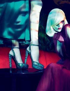 Gucci Fall 2011 Campaign [] #Vogue #Taiwan 2011 [] Abbey Lee Kershaw   Joan Smalls   Emily Baker 'n Sigrid Agren [] by Mert 'n Marcus
