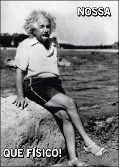 Pois... sou Isaac Newton, mundialmente reconhecido como físico e matemático.