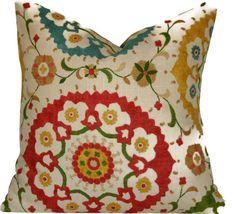 PillowYellowONE 20x20 inch Decorator Pillow by Graciespillows, $35.00