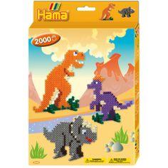 U nas kolejne zestawy koralików do zaprasowania.   Tym razem Zestaw Hama 3434 Midi Dinozaury to aż 2000 koralików w różnych kolorach, z których ułozyć można 3 różne figurki dinozaurów.   Co kryje sięjeszcze w zestawie: Sprawdźcie sami:)  Pomoc rodziców obowiązkowa!  Widzieliście już Jurajski Park? Warto, polecamy!  #koraliki #hama  #dinozaury  #zabawki #sklep #krakow