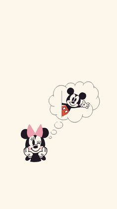 Mickey e Minnie 😍 Mickey Mouse Wallpaper Iphone, Cute Disney Wallpaper, Cute Cartoon Wallpapers, Cute Wallpaper Backgrounds, Wallpaper Iphone Cute, Wall Wallpaper, Mickey Mouse Art, Mickey Love, Disney Decals