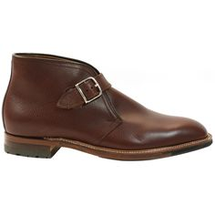 Alden Men's George Boot | Brown Scotch Grain Calfskin | Style #91674C | Available at TheShoeMart.com