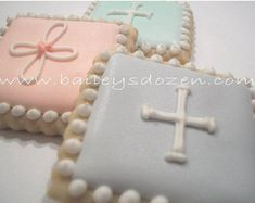 Baby Baptism Christening Party Favors Religious by Baileysdozen Christening Party Favors, Christening Cookies, Baby Boy Christening, Baptism Favors, Baptism Party, Girl Baptism, Cross Cookies, Angel Cookies, Cookie Party Favors