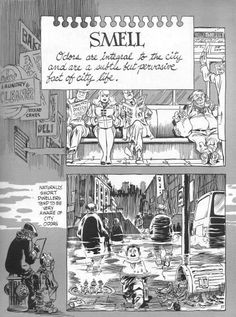 Caneta nanquim e papel branco. Will Eisner eterno. (New York, The City)