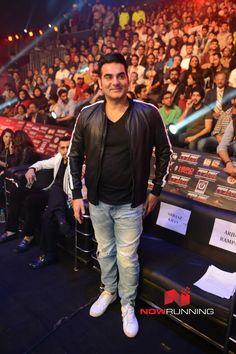 Arbaaz Khan at MMA league Final